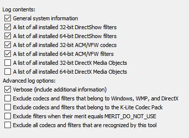 Codec Tweak Tool - Generate log by command line 2019-11-04_103217